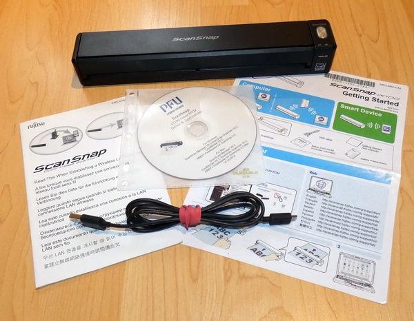 Fujitsu ScanSnap iX100 Lieferumfang