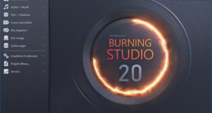 Ashampoo Burning Studio 20 Hauptfenster