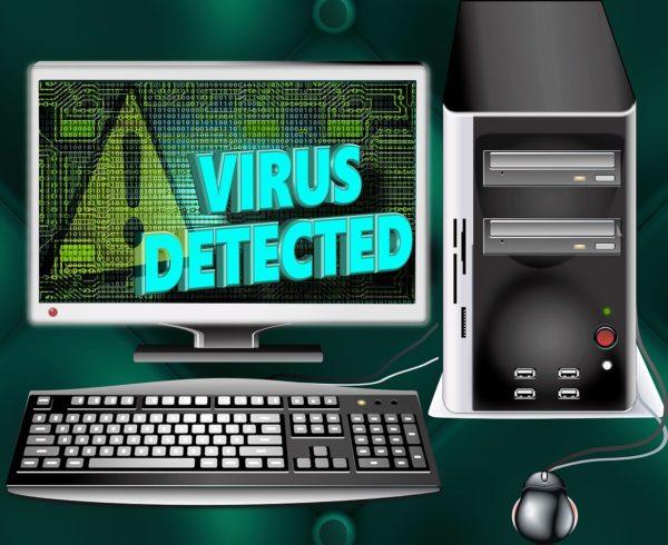 Computer Virus Trojaner