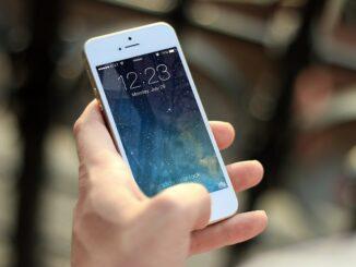 Hygiene auf dem Handy