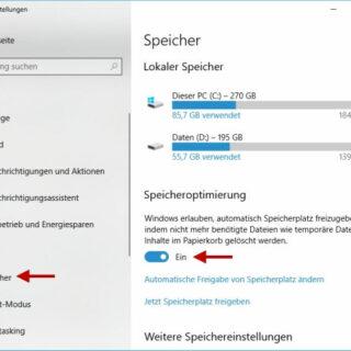 Temporäre Dateien automatisch löschen - So einfach gehts