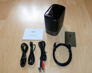 AUKEY 2-in-1 Wireless Transmitter Empfänger Lieferumfang