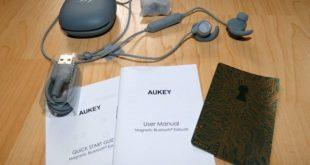 AUKEY EP-B60 Bluetooth Kopfhörer Aufbau, Lieferumfang und Design