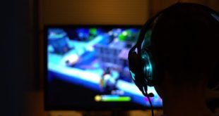 Spieler bei Fortnite am PC