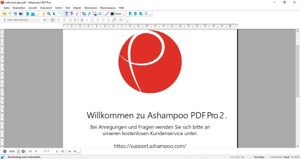 Screenshot Ashampoo PDF Pro 2