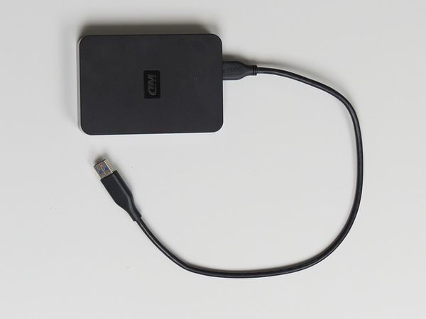 Externe Festplatte für USB-Anschluss