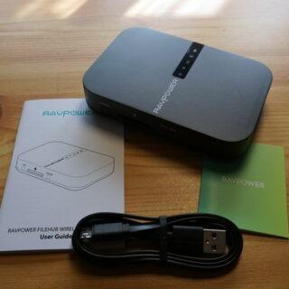 RAVPower Filehub und kabelloser Reise-Router AC750 im Test