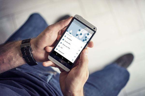 NordVPN auf Android Smartphone