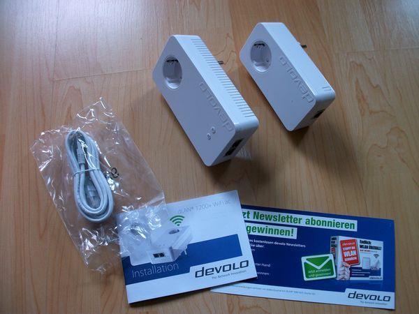 Powerline Adapter - LAN und WLAN Set von devolo