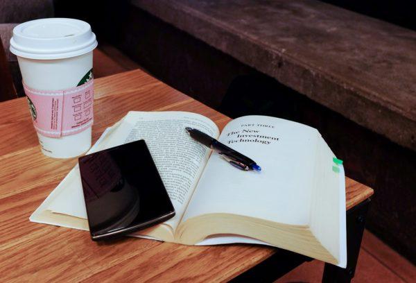 Smartphone beim Studium oder lernen