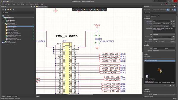 Altium Concord Pro Screenshot der Software