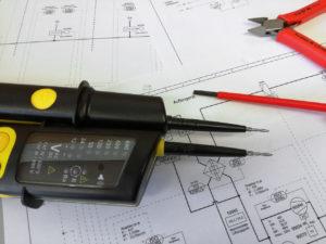 Prüfung der elektrischen Anlagen