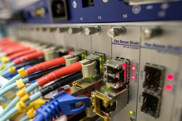 LWL Glasfaseranschlüsse beim Internetprovider