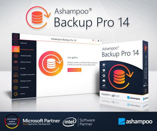 Ashampoo Backup Pro 14 Präsentation