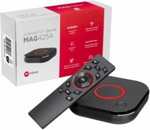 MAG 425A Infomir & HB-DIGITAL 4K IPTV Set TOP Box