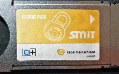 Common Interface Module CI+ von SMiT (Hongkong) für Smartcards von Kabel Deutschland (DVB-C) 2014