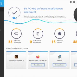 Ashampoo UnInstaller 9: saubere Deinstallation von Programmen