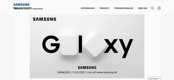Samsung Galaxy S20 Unpacked Event in San Francisco