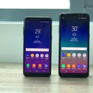 Samsung Galaxy A8 Smartphone vorgestellt
