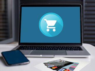 E-Commerce Einkaufen Einkaufswagen