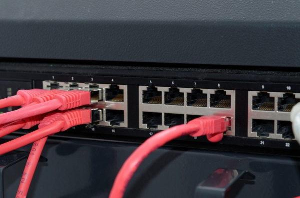 Netzwerk Ausrüstung Hardware