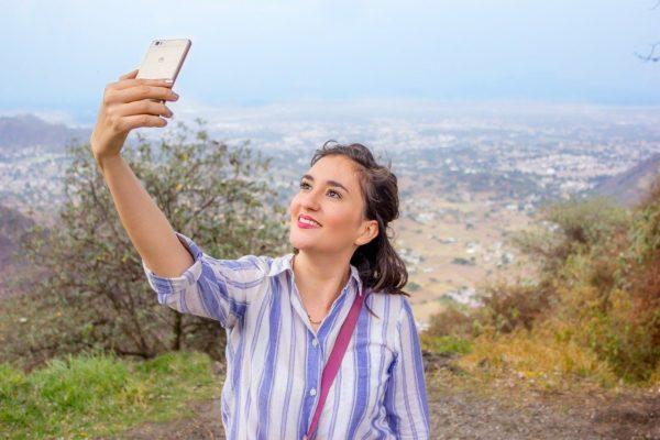 Huawei Smartphone Selfie