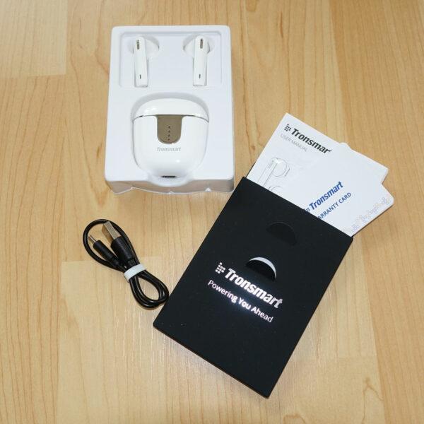 Lieferumfang Tronsmart Onyx Ace True Wireless Bluetooth Ohrhörer