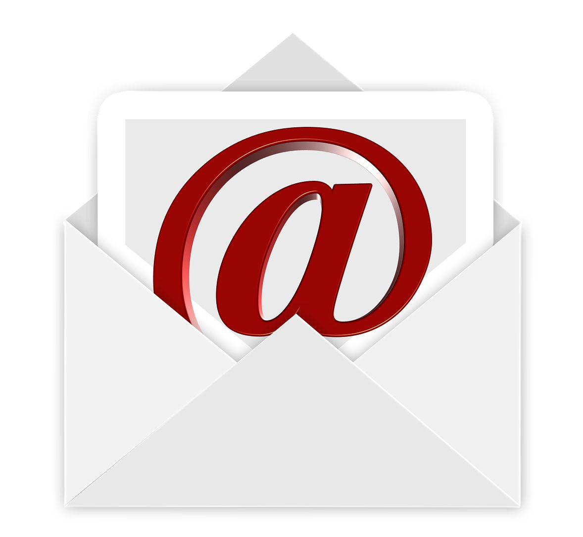 Umschlag, Briefumschlag, At, Mail, Email, E-Mail, Post