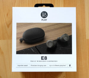 Bang und Olufsen Play Beoplay E8 Verpackung