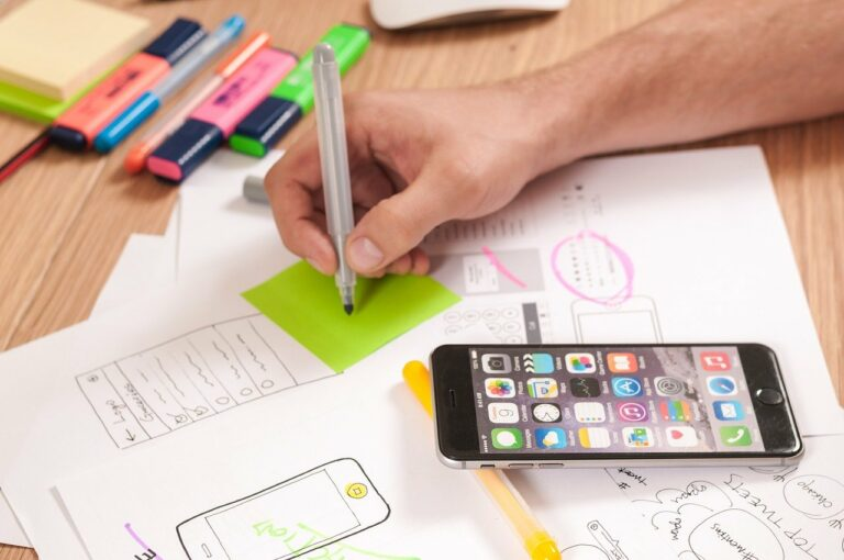Grafikdesign für Website