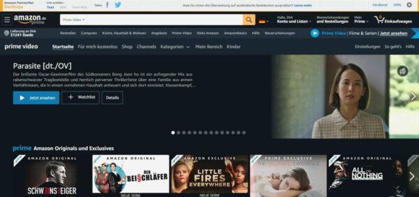 Streaming-Tipps für Amazon Prime Video