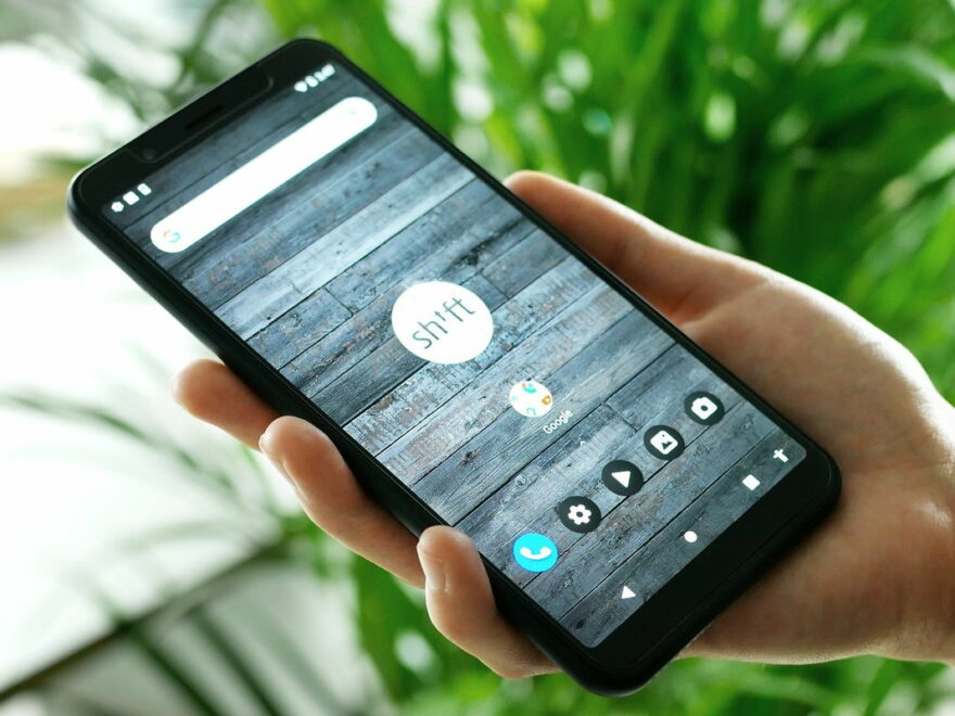 SHIFT6mq modulares Smartphone