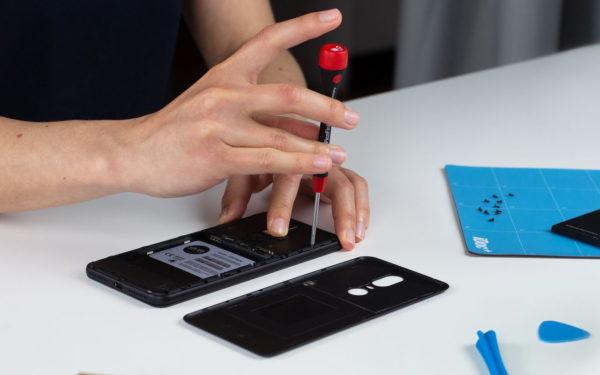 Shiftphones setzen auf einfache Reparierbarkeit. © iDoc
