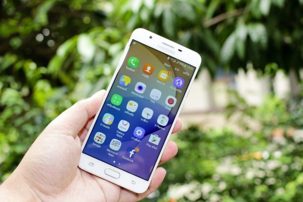 Android auf Samsung Galaxy Smartphone