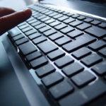 Tasten und Tastenschalter bei einer Computer-Tastatur