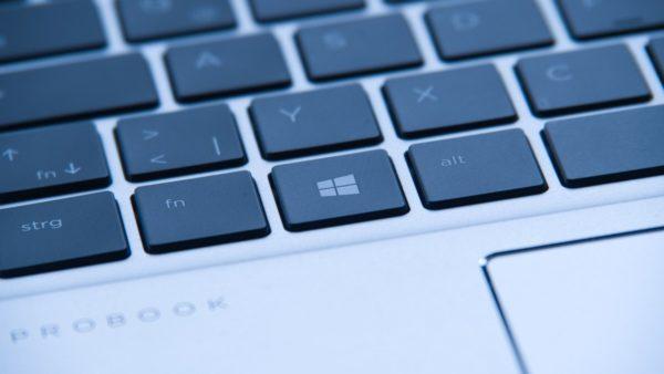 Windows-Taste auf Notebook-Tastatur
