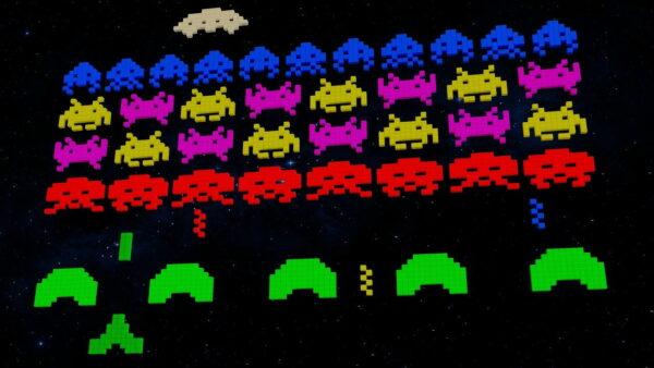 Screenshot Videospiele 80er Jahre