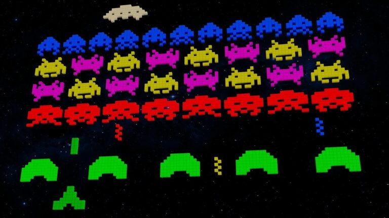 Screenshot Videospiel 80er Jahre
