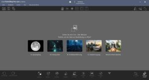 Corel PaintShop Pro 2021 Ultimate Oberfläche