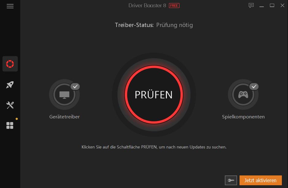 Driver Booster 8 von IObit zum Download