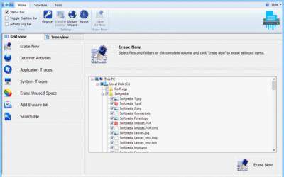 BitRaser File Eraser Screenshot