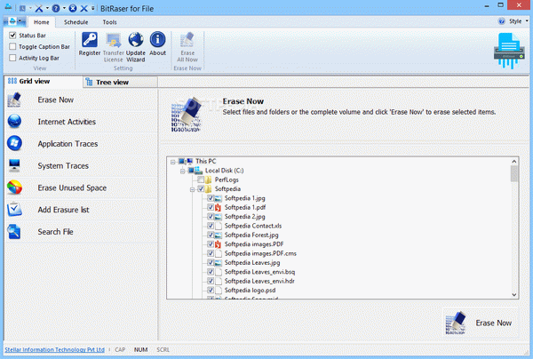 BitRaser File Eraser Screenshot