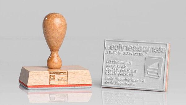 Holzstempel-Beispiel