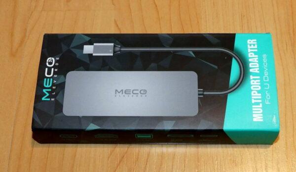 MECO ELEVERDE USB-C Hub Verpackung