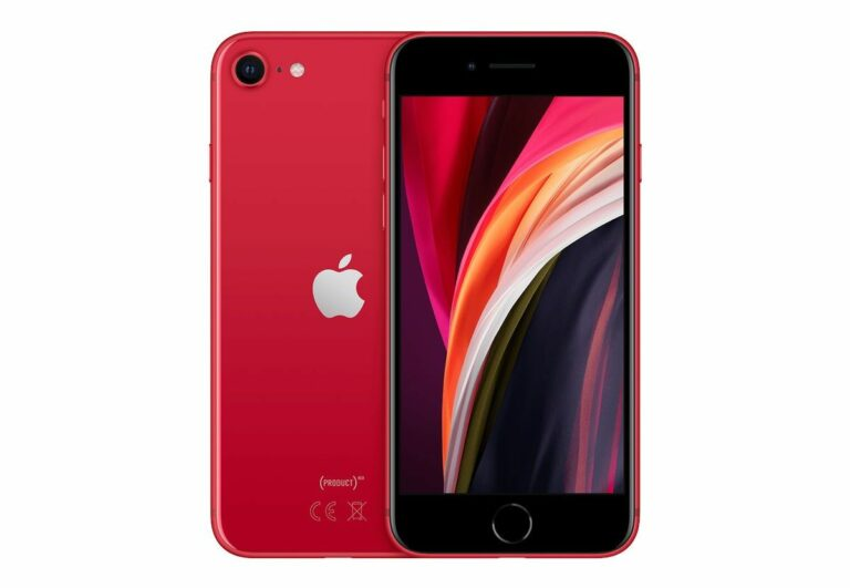 Refurbished iPhone SE 2020 in Rot