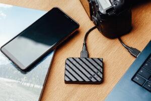 externe Store'n'Go Mini SSD von Verbatim
