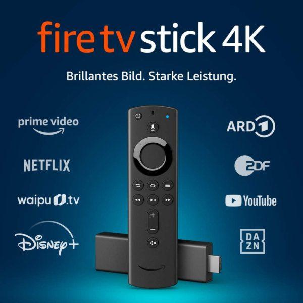 Fire TV Stick 4K Ultra HD Streamingdienste