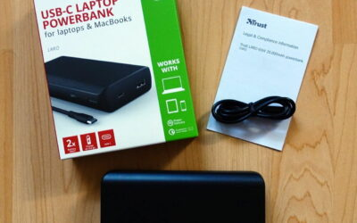 Trust Laro 65W USB-C Laptop Powerbank Lieferumfang