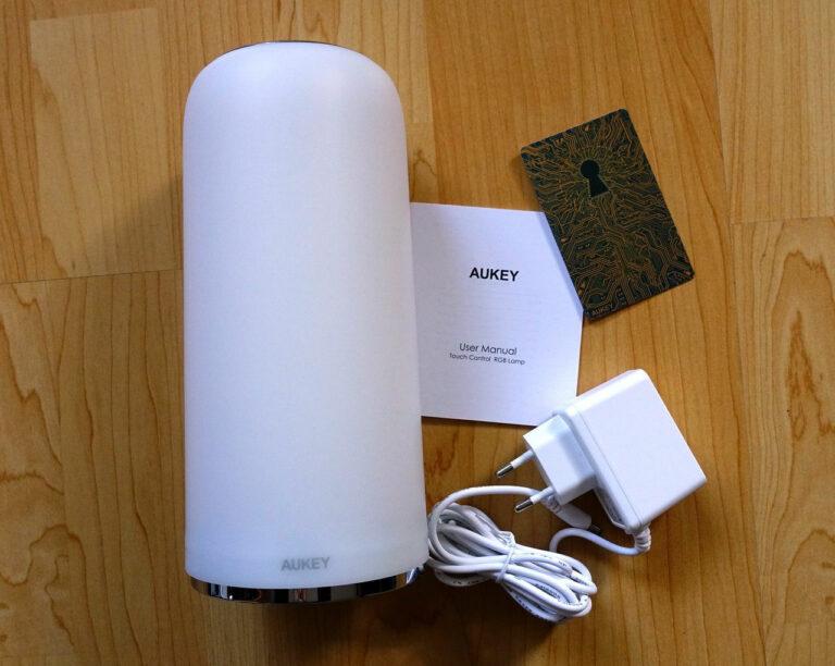 AUKEY LT-T7R RGB Tischlampe Lieferumfang