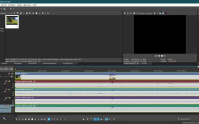 Magix Vegas Pro 18 Screenshot